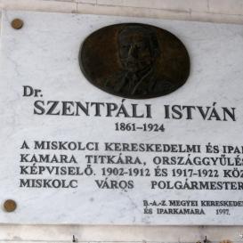Dr. Szentpáli István-emléktábla
