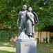 Irredenta szoborcsoport - Dél szobra