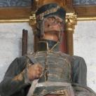 Országház - főrendiházi ülésterem dunai folyosó: Lovas katona