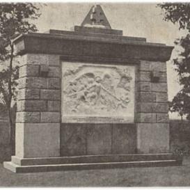A kommün áldozatainak emlékműve