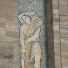 Róma mítosza: A Nemzeti Társadalombiztosítási Hivatal 'B' épületének homlokzati mozaikja