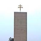 I-II. világháborús emlék és Országzászló