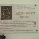 Gedeon József-emléktábla