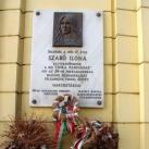 Szabó Ilona domborműves emléktáblája