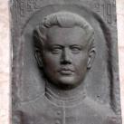 Kálmány Lajos domborműves emléktábla