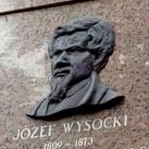 Jósef Wysocki-emléktábla