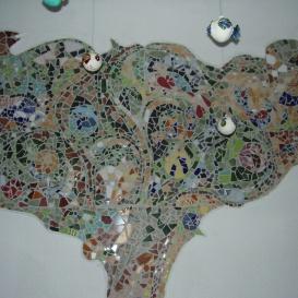 Mozaik fal