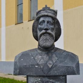 Szent László király szobra