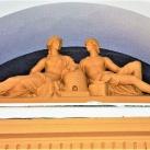 Zephürosz és Khlórisz szobra