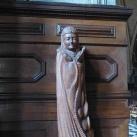 Árpád-házi Szent Erzsébet faszobra