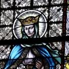 Nagyboldogasszony-templom szentélyének üvegablakai