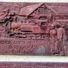 Szolnok-Kiskunfélegyháza vasútvonal emléktáblája