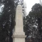 A 12. gyalogezred tisztikarának emlékműve