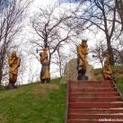Aranybányászok emlékműve