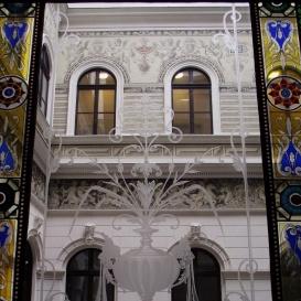 A Wahrmann Palota udvari frontjának sgraffitói
