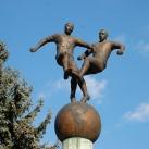 A magyar labdarúgás szobra