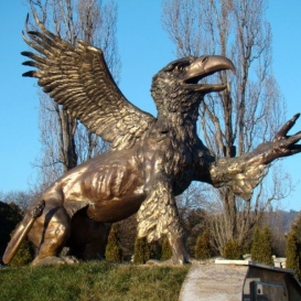 Griff-szobor