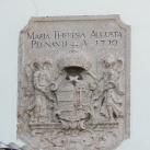 Magyar kiscímer pajzstartó angyalokkal és Szent Koronával