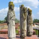 Bor-Kalán nemzetség monostorának szobrai