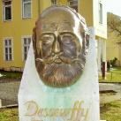 Dessewffy Arisztid fejszobra