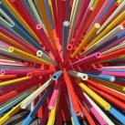 Óriás ceruzatartó sün