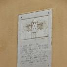 Keleti városfal emléktáblája