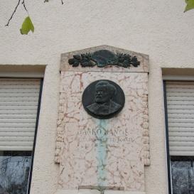 Jankó János-emléktábla