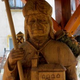 Szent Wolfgang-szobor