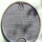Szeghy Endre-emléktábla