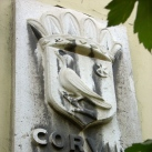 Corvin tér utcatábla