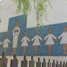 Tanító és tanítványok-mozaik