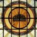 A Szent István-bazilika jobb oldali üvegablakai