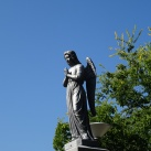 Báró Földváry Juliska síremléke