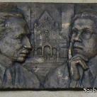 Hont Ferenc és Buday György emléktáblája