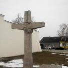 Kitelepített mosoni németek emlékműve