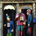 A szegedi órajáték szoborcsoportja