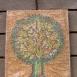 Virágzó fa mozaik