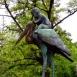 Huszár születik-szobor