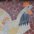Mozaik állatfigurák II.