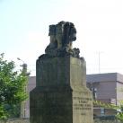 Gyöngyössi János síremlékoszlopa