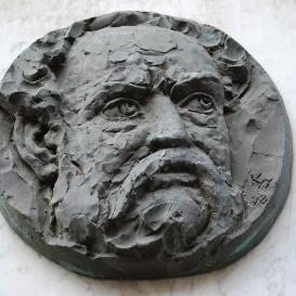 Erkel Ferenc domborműves emléktáblája