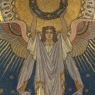 A Kossuth-mauzóleum mozaikképei