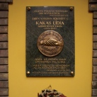 Kakas Lídia Szeretetotthon domborműves emléktábla