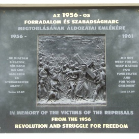 Emlékmű a megtorlások áldozatainak emlékére