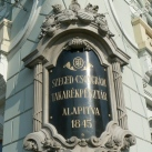 Szeged–Csongrádi Takarékpénztár emléktáblái