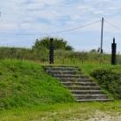 A Komáromi Vár védőinek kopjafás emlékparkja