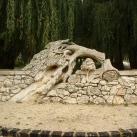 Német kitelepítettek emlékplasztikája