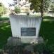 Emlékmű a község újratelepítésének 250. évfordulójára