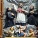 A kassai vértanúk oltárának szobordíszei