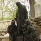 Szent Konrád szobra